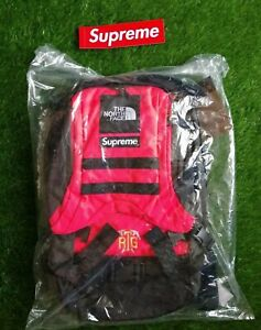 Supreme x The North Face RTG Explorer Red Bag Backpack SS20 (100% Authentic)