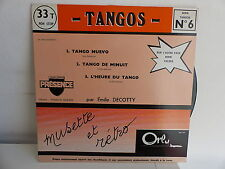 EMILE DECOTTY Tangos N°6 / Valses N°8 ORLY SBV641 MUSETTE ACCORDEON