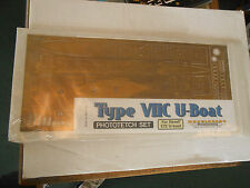 ModelBrass Type VIIc 1/72 scale brass Replacement deck submarine detail U-boat