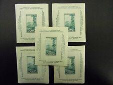 1937 #797 10c Society of Philatelic Americans SS Lot of 5  MNH OG