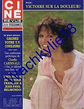 Ciné revue n°40 du 02/10/1980 Claudia Cardinale Jean-Paul Belmondo