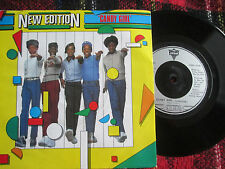 New Edition ‎– Candy Girl London Records ‎– LON 21 UK Vinyl 7 inch 45 Single