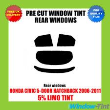 Honda Civic 5-door 2006-2011 5 Limo Rear Pre Cut Window Tint