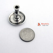 Sterling Silver Miniature Chamber Stick 1950
