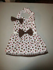 L Dog dress [Acorn's] cotton handcrafted