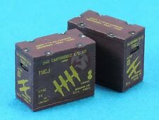 Legend 1/35 M1917 .50 Cal Ammo Crates (Linked Type) (8 pieces with Decal) LF1296