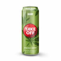 Take Off Energy Drink Hanf 24x 0,33L Ds., inkl. EINWEG Pfand