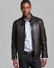 BOSS HUGO BOSS Neldo Waxy Leather MENS Jacket SIZE XL  46 R