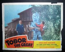 Tobor The Great  1954 11x14 Original U.S lobby card #2 in Toploader