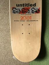 untitled2001  Chris Johanson Art Deck From Japan Free shipping