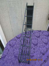 Coffee Commercial Syrup Wire Rack Display Stand 6 Bottle