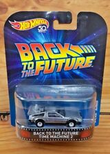 HOT WHEELS 2018 RETRO ENT. MIX A - BACK TO THE FUTURE TIME MACHINE 2 (A+/A)