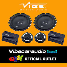 "Vibe Slick 6C Components V3 17cm 6.5"" 270 Watts 2 Way Car Door Speakers FREE P&P"