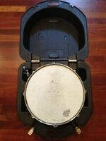 LUDWIG 5 By 14 Snare Drum with Hard Plastic Case Vintage