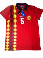 Adidas Orginals Spanien FEF Espana Shirt Polo T-Shirt   S  M  L  XL