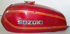 1973 1974 1975 1976 77 SUZUKI GT250 FUEL TANK, 44110-18680-737, RED (*281*)