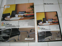 Microsoft MS Office 2003 Standard Full Retail English Version =NEW RETAIL BOX=