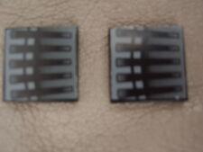 2 LEGO 7252 STAR WARS DROID TRI-FIGHTER PIASTRE 2x2 Nero Piatto 3068b Aufklebe