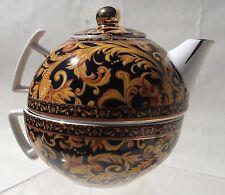 Crown Porcelain Elegance Tea Cup One Cup Tea Pot and Lid