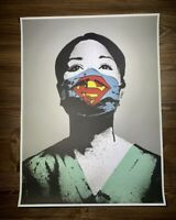 FAKE SUPER NURSE PANDEMIC Print RARE obey banksy kaws supreme martin whatson