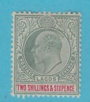 LAGOS 57 MINT HINGED OG * NO FAULTS EXTRA FINE !