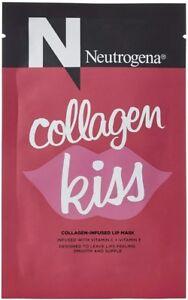 Neutrogena Collagen Kiss Single Use Moisturizing Lip Mask 0.1 OZ New