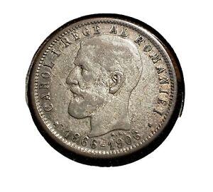1906 Leu Silver. Romania
