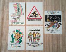 5 cartes postales publicitaires LC WAIKIKI