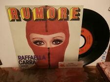 """raffaella cara""""rumore""""single7""""or.fr.ibach/carrer:49097 + encart juke-box"""