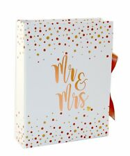 Engagement gift, Wedding Planner Mr & Mrs Book Rose Gold Bridal Organizer Diary