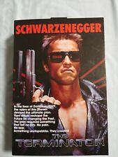 BRAND NEW Neca Tech Noir Terminator T-800 Schwarzenegger Figure