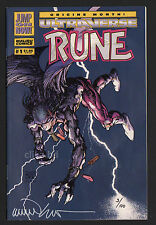 B.W. SMITH -RUNE- S / L- 6 # -1994.ULTRAVERSE corp,RUN of 100 - # 003/100.RARE-