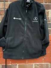 MERCEDES BENZ ORN FLEECE  car JACKET COAT SIZE extra LARGE XL pockets unisex