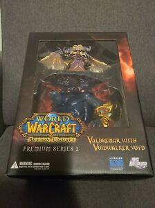 World Of Warcraft Action Figure Premium Series 2 Valdremar With Voidwalker Voyd