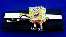 SPONGEBOB Tie Bar SPONGEBOB SQUAREPANTS TIE CLIP CLASP PIN NECKTIE TIES LOGO