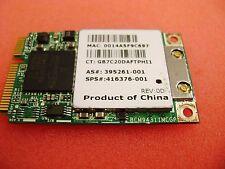 Hp Pavilion Dv9000 WiFi Wireless Laptop Card * 416373-001 * 395261-001