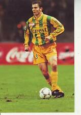 FOOTBALL carte joueur STEPHANE LIEVRE équipe FC NANTES