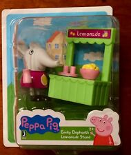 Peppa Pig Emily Elephant's Lemonade Stand Figures Cake Toppers New