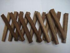 16 chevilles 10 mm bois tradition à l'ancienne châtaignier meuble chevillé