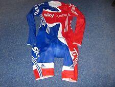 TEAM GB GREAT BRITAIN 2010 ADIDAS ITALIAN LYCRA CYCLING SKIN SUIT [M]