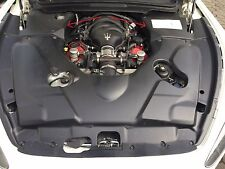 Für Maserati GT GranTurismo Stradale Carbon Motorabdeckung re u li MY13 MY14 MC