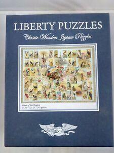 "Liberty Puzzles ""Birds of the Tropics"" 745 Pieces - Original Owner, Wood Jigsaw"