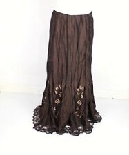 PER UNA Crinkle LACE A-Line SKIRT ~ Var Sizes ~ BLACK