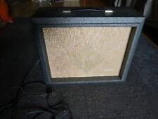 Vintage 1962 Silvertone 1481 Amplifier, Hohner harmonica, Fender guitar,amp.