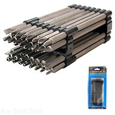 Screw Driver Bit Set Extra Long Tamper Proof Security 32 Piece 6 Inches CSDB32L