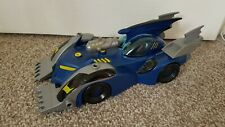 Dc Batman Batmobile Blue Vehicle Car Toy- Mattel - removable parts