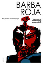 Movie Poster for Japan film BARBA Roja.Red Beard.Asian Room Home art decoration