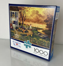 """Charles Wysocki Supper Call 1000 Piece Puzzle Buffalo 26.75""""×19.75"""" [New]"""