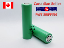 OEM 18650 22F 2200MAH 20A Rechargeable high capacity FLAT TOP - 2 Batteries