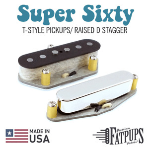 Scatter Wound Custom '60s Style Tele Set | Telecaster Guitar Pickups | USA Made